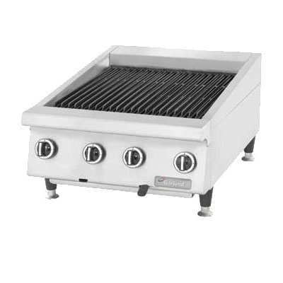 "Garland GTBG36-AR36 36"" Countertop Charbroiler, Adjustable, Manual Control, LP"
