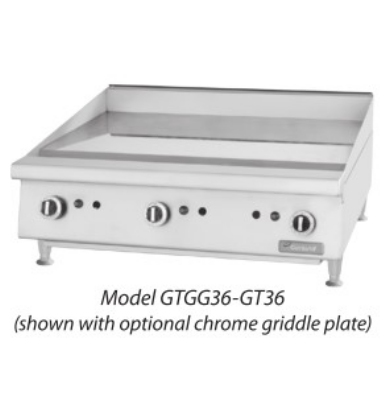 Garland GTGG24-G24 24-in Griddle w/ 1-in Steel Plate & Manual Hi-Lo Restaurant Supply