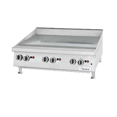 """Garland GTGG48-GT48M 47.25"""" Gas Griddle - Thermostatic, 1"""" Steel Plate, NG"""