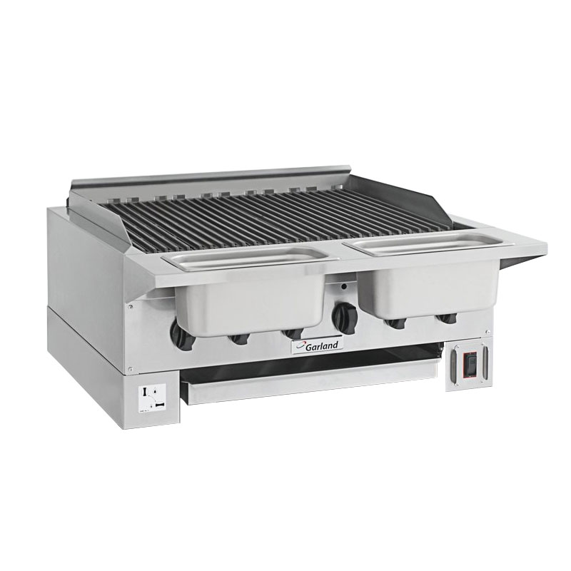 "Garland HEEGM24CL High Efficiency Broiler w/ Removable Cast Iron Grates, 20.13x23.5"" Grill, LP"