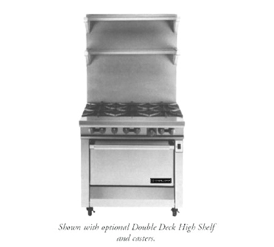 "Garland M43R 34"" 6-Burner Gas Range, LP"