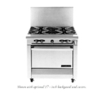 "Garland M44R 34"" 4-Burner Gas Range, LP"
