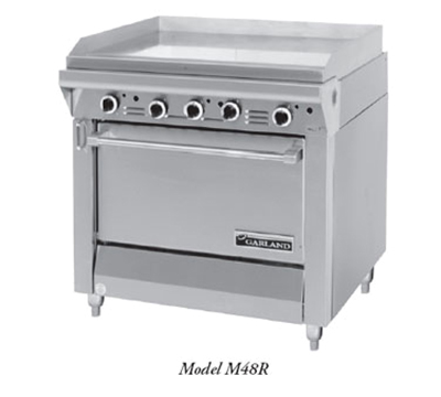 """Garland M48R 34"""" Gas Range with Griddle, NG"""