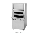 Garland M60XS NG Deck Type Broiler w/ Upper Finishing Oven, Storage Base, NG