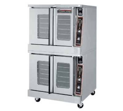 Garland MCO-ES-20 Double Full Size Electric Convection Oven - 240v/3ph
