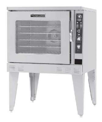 Garland MP-ES-10-S Single Full-Size Electric Convection Oven - 208v/3ph