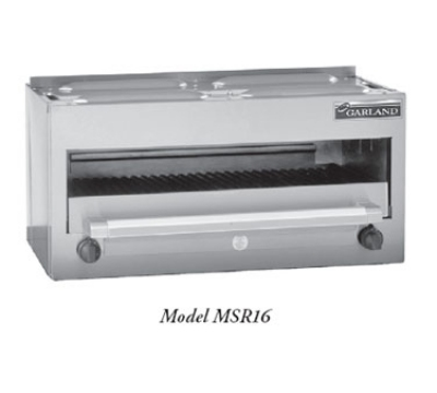 Garland / US Range MSR16 NG Master Series Salamander Broiler 34 in Range Mount 2 Burner w/ Controls NG Restaurant Supply
