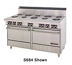 "Garland S684 60"" 10-Coiled Element Electric Range, 208v/3ph"