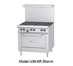"Garland U36-4G12R-NG 36"" 4-Burner Gas Range with Griddle, NG"