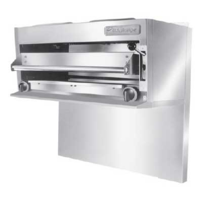 "Garland UIR60 LP 36"" Gas Salamander Broiler, LP"
