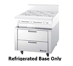 "Garland UN17R108 108"" Chef Base w/ (4) Drawers - 115v"