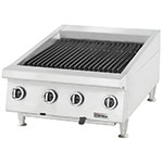 "Garland UTBG24-AB24 24"" Countertop Charbroiler, Ceramic, Adjustable Cast Iron Grates, LP"