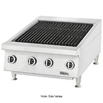 "Garland UTBG72-NR72 70.88"" Countertop Charbroiler w/ Manual Control & Cast Iron Grates, LP"