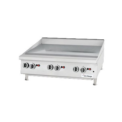 "Garland UTGG36-GT36M 35.43"" Gas Griddle - Thermostatic, 1"" Steel Plate, LP"