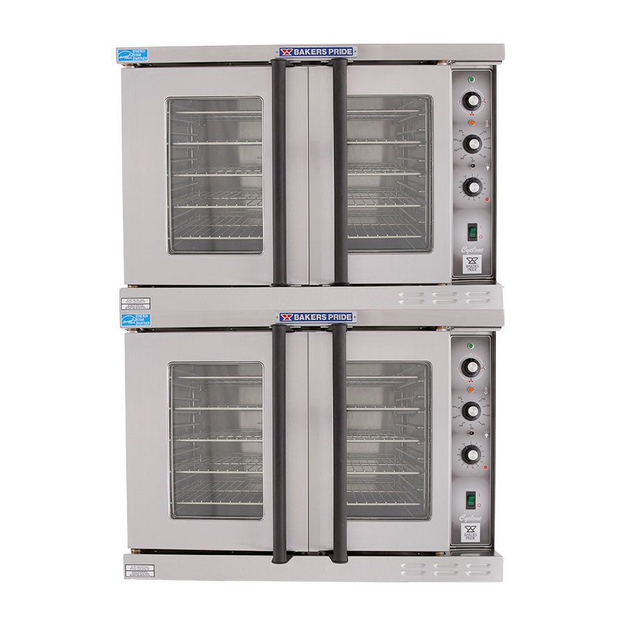 Bakers Pride BCO-E2 Double Full Size Electric Convection Oven - 208v/3ph