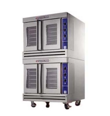 Bakers Pride BCOE2 Double Full Size Electric Convection Oven - 208v/1ph