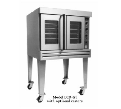 Bakers Pride BCOG1 Full Size Gas Convection Oven - NG
