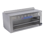 "Bakers Pride BPCM-36 36"" Gas Cheese Melter w/ Infrared Burner, Stainless, NG"