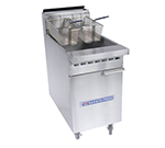 Bakers Pride BPF-6575 Gas Fryer - (1) 75-lb Vat, Floor Model, NG