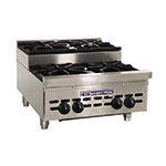 "Bakers Pride BPHHPS-424I 24"" 4-Burner Gas Range, Step-up, NG"