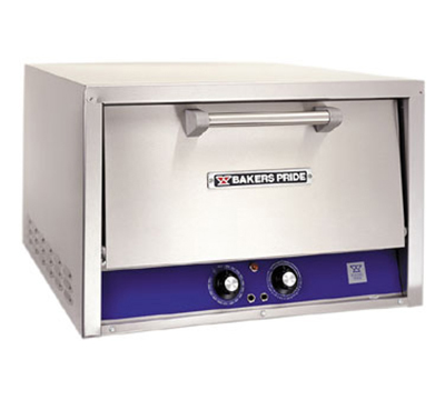 Bakers Pride P24S Countertop Pizza/Pretzel Oven - Single Deck, 208v/1ph