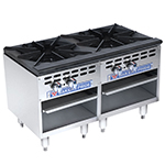 Bakers Pride BPSP-18-2-D 2-Burner Stock Pot Range, NG