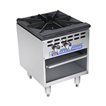 Bakers Pride BPSP-18-2 1-Burner Stock Pot Range, NG