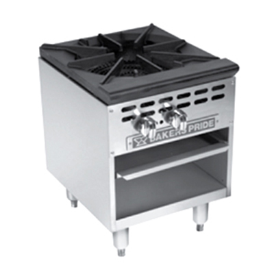 Bakers Pride BPSP-18J-16 NG 1-Burner Stock Pot Range, NG