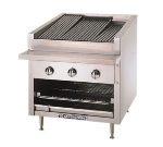 Bakers Pride C30R NG 30 in Profile Charbroiler, 80,000 BTU, Counter Model, SS Radiants, NG