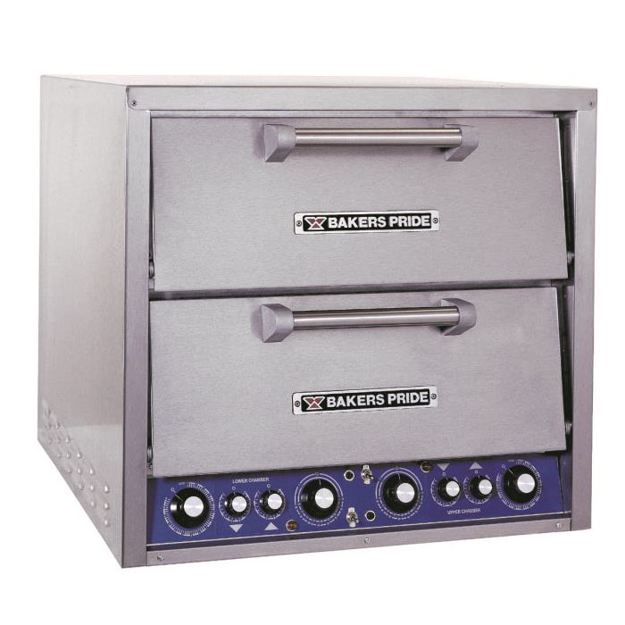 Bakers Pride DP-2BL Countertop Pizza Oven - Double Deck, 240v/3ph