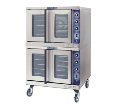 Bakers Pride GDCOE2 Double Full Size Electric Convection Oven - 208v/3ph