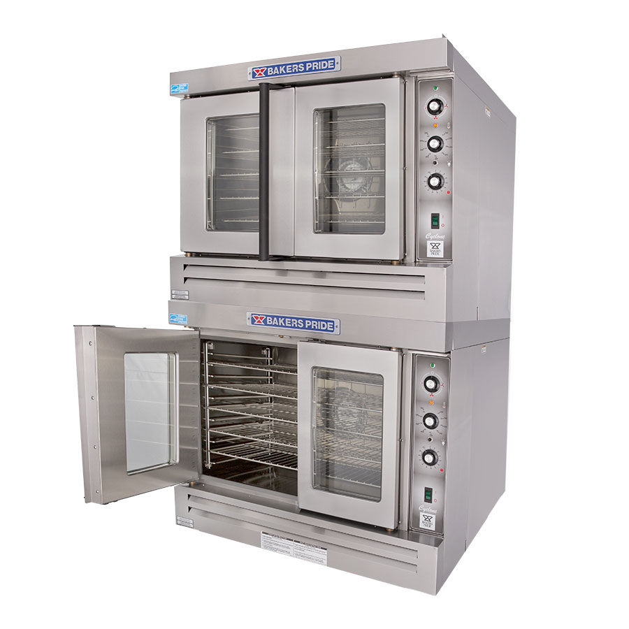 Bakers Pride GDCO-G2 Double Full Size Gas Convection Oven - NG