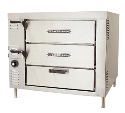 Bakers Pride GP-61 Countertop Pizza Oven - Double Deck, NG