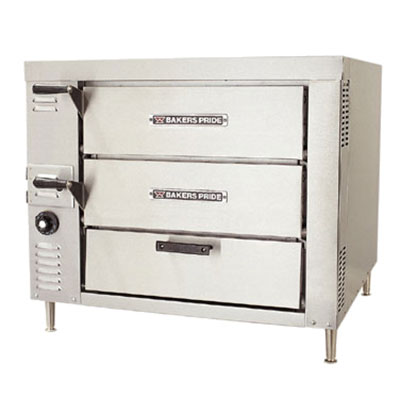 Bakers Pride GP-62HP Countertop Pizza Oven - Double Deck, NG