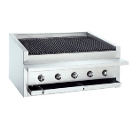 "Bakers Pride L-30R 30"" Gas Charbroiler - (6) Stainless Radiants, NG"