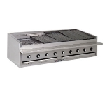 Bakers Pride L84GS NG 84-in Low Profile Countertop Charbroiler, Glo-Stone, NG