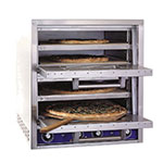 Bakers Pride P44-BL Countertop Pizza/Pretzel Oven - Double Deck, 220v/1ph