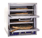 Bakers Pride P44S Countertop Pizza/Pretzel Oven - Double Deck, 208v/1ph