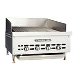 "Bakers Pride XX4 26.25"" Gas Charbroiler - (4) Stainless Radiants, NG"