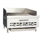 "Bakers Pride XX-6 36.75"" Gas Charbroiler - (6) Stainless Radiants, LP"