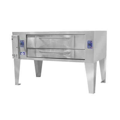 Bakers Pride Y-602BL Pizza Deck Oven, LP
