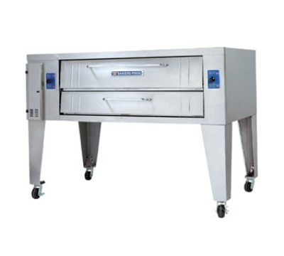 Bakers Pride Y802 Double Pizza Deck Oven, NG