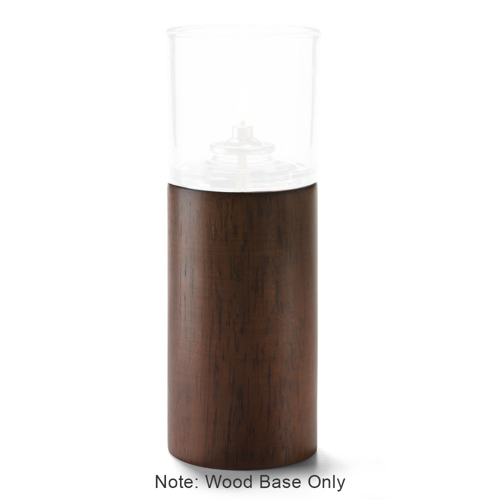 """Hollowick 220 Horizon Cylinder Base for HD17 & HD26 Fuel Cells - 5.5"""" x 2.75"""", Wood"""