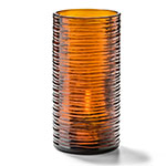 "Hollowick 48025DA Typhoon Candle Holder for HD17, HD26, & HD36 - 3.13"" x 6.63"", Amber"