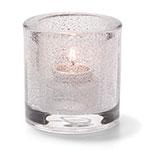 """Hollowick 5140CJ Tealight Lamp for HD8. 2.75x2.88"""", Glass, Clear Jewel"""