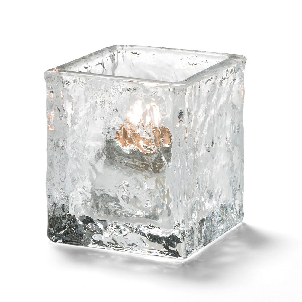 Hollowick 5180C Glacier Tealight Lamp for HD8 Fuel Cell, Clear