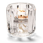 "Hollowick 5690C Tealight Lamp for HD8 Fuel Cells, 2.5x2.38"", Glass, Clear"