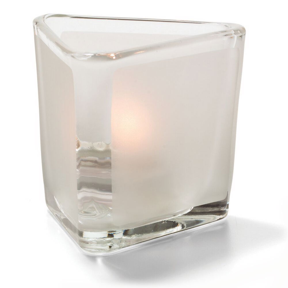 Hollowick 6106F Votive Lamp w/ Frost Panel, Glass