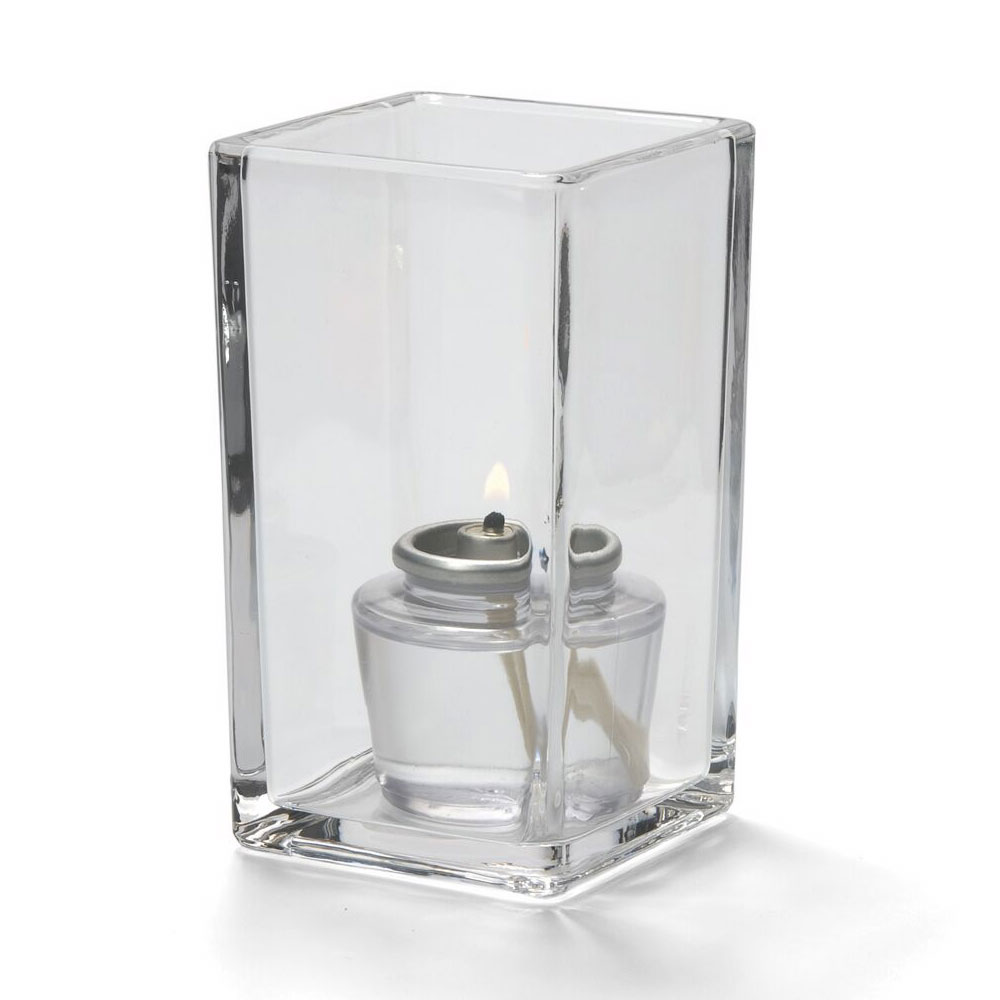 "Hollowick 6109C Quad Votive Lamp for HD8 & HD15, 4.38x2.5"", Clear"