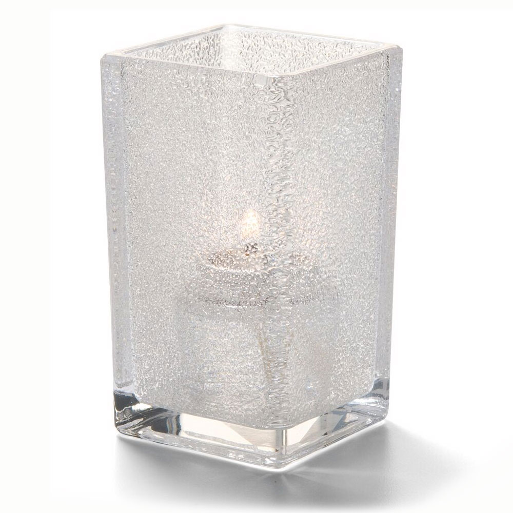 "Hollowick 6109CJ Quad Votive Lamp for HD8 & HD15, 4.38x2.5"", Clear Jewel"